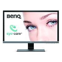 Ecran - Enceinte BenQ EL2870U - Ecran Gamer 28 - UHD - Dalle TN - 1 ms - 60 Hz - HDMI 2.0 - DisplayPort 1.4 - AMD FreeSync 2