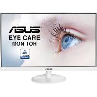 Ecran - Enceinte Ecran LED - ASUS VC239HE-W - 23 - 1920x 1080 - Full HD - Dalle IPS - HDMI - VGA -  Blanc