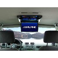 Ecran Embarqué RSE-K100TN - Kit installation pour VW Touran pour PKG-2000P et PKG-2100P Alpine