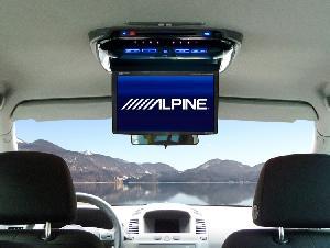 Ecran Embarqué RSE-K100ZA - Kit installation pour Opel Zafira pour PKG-2000P et PKG-2100P Alpine