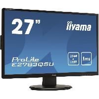 Ecran Ordinateur E2783QSU-B1 - Ecran 27 WQHD - Dalle TN - 1ms - DisplayPort - HDMI - DVI
