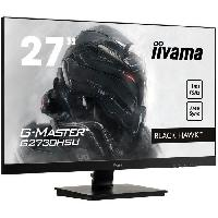 Ecran Ordinateur Ecran G-Master Black Hawk - 27 Full HD - Dalle TN - 1 ms - 75 Hz - DisplayPort - HDMI - VGA - AMD FreeSync