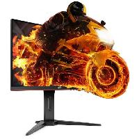 Ecran Ordinateur Ecran Gaming 27 pouces incurve - Dalle VA - 1ms - 144Hz - HDMI x2 - Displayport - FreeSync