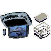 Ecrans Embarqués LECTEUR DVD DE PLAFOND ECRAN 10-2P FM TELECOMMANDE livre sans casque - ADNAuto