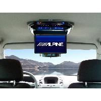Ecrans Embarqués RSE-K100ZA - Kit installation pour Opel Zafira pour PKG-2000P et PKG-2100P - Alpine