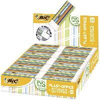 Ecriture - Calligraphie BIC Plast-Office Gommes Blanches - Boîte de 20 Betadine