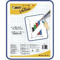 Ecriture - Calligraphie BIC Velleda Tableau Double Face Effacable a Sec -44x55 cm- - Bleu. Pack de 1 Betadine