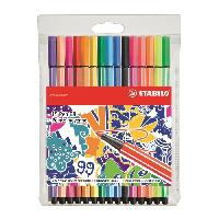 """Ecriture - Calligraphie STABILO 15 stylos-feutres """"Individual just like you"""" - Point 68"""