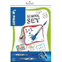 Ecriture - Calligraphie Set Ecolier - 1 V-BOARD MASTER S - Encre Bleue + 1 Effacette + 1 V-BOARD MASTER S - Encre noire + 1 Ardoise