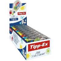 Ecriture - Calligraphie Tipp-Ex Mini Pocket Mouse Rubans Correcteurs 6 m x 5 mm - Couleurs Tendance Assorties. Boîte de 10 Timid T Turtle