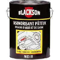 Efface Rayure - Renovateur Insonorisant pateux noir Pot 1kg - Blackson