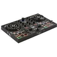 Effets Et Controle Du Son HERCULES Inpulse 200 - Contrôleur DJ USB - 2 pistes avec 8 pads et carte son