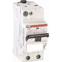 Electricite - Domotique ABB Disjoncteur différentiel phase plus neutre (PH/N) 16 A  471013gsb