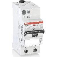 Electricite - Domotique ABB Disjoncteur différentiel phase plus neutre (PH/N) 32 A