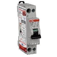 Electricite - Domotique ABB Disjoncteur modulaire phase plus neutre (PH/N) 20 A