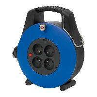 Electricite - Domotique BRENNENSTUHL 1102931 Enrouleur ménager 20 m Confort-Line CL-Xl bleu H05VV-F 3G1.0 - a Usage Domestique (fabrication française)