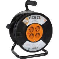 Electricite - Domotique Enrouleur de cable 50m 3G1.5 PEREL