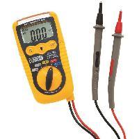 Electricite (multimetre - Detecteur De Terre - Test Prise) Multimetre numerique de poche - Detection de tension sans contact- 200mV a 600V