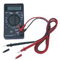 Electricite (multimetre - Detecteur De Terre - Test Prise) Mutlimetre numerique - 5 fonctions