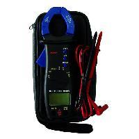 Electricite (multimetre - Detecteur De Terre - Test Prise) Pince amperemetrique digitale
