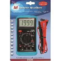 Electricite (multimetre - Detecteur De Terre - Test Prise) VOLTMAN Multimetre numérique 30 Calibres