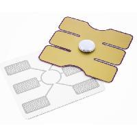 Electrostimulation INNOVAGOODS Patch Électrostimulateur Abdominal Inn Too