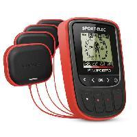 Electrostimulation Sport-Elec - Multisport Pro -  Electrostimulateur musculaire complet - 94 programmes - 4 modules - Électrodes exportées muscles long