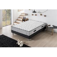 Element De Lit HOTEL SUPREME Ensemble Matelas + Sommier 140 x 190 - Ressorts - 7 zones - Ferme - 27 cm - Deko Dream