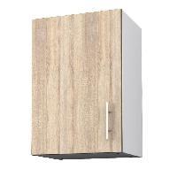 Elements Separes Bas OBI Meuble haut de cuisine 40 cm - Decor chene clair