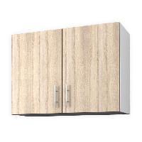 Elements Separes Bas OBI Meuble haut de cuisine 80 cm - Decor chene clair