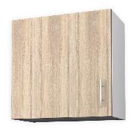 Elements Separes Bas OBI Meuble haut de cuisine L 60 cm - Décor chene clair - Generique