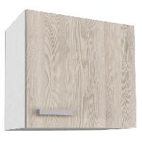 Elements Separes Haut START Meuble haut de cuisine L 60 cm - Decor frene sable
