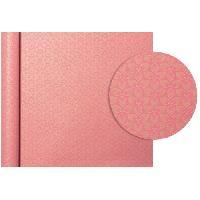 Emballage Cadeau CLAIREFONTAINE Rouleau de papier Cadeau Fleurs - Sous film - 70 g/m² - Rose