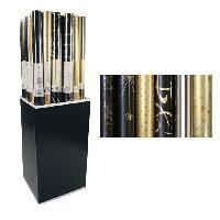 Emballage Cadeau CLAIREFONTAINE Rouleau papier cadeau Premium - 2 x 0.7 m - 80 g / m² - 6 motifs assortis sous film
