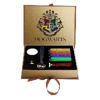 Emballage Cadeau HARRY POTTER Coffret cachet cire