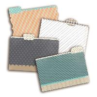 Embellissement - Petit Accessoire De Decoration - Motif A Coller TOGA Pack de 4 Mini Intercalaires Vice Versa