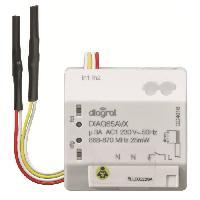 Emetteur - Actionneur - Recepteur - Transmetteur Domotique DIAGRAL Récepteur encastrable pour pilotage de l'éclairage DIAG65AVX