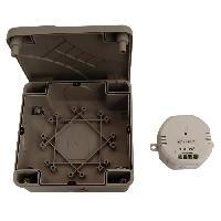 Emetteur - Actionneur - Recepteur - Transmetteur Domotique Module sans fil DiO OnOff 1000 W avec boitier etanche pour jardin