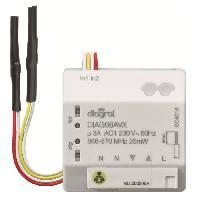 Emetteur - Actionneur - Recepteur - Transmetteur Domotique Recepteur encastrable pour volets roulants DIAG66AVX