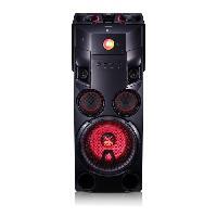 Enceinte Centrale LG OM7560 Systeme Audio High Power - 1000W - Bluetooth - Noir