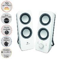 Enceintes Ordinateur Logitech Z200 Speaker 2.0 Blanc