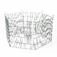 Enclos - Chenil DUVO Parc 6 panneaux - 60x60 cm - Pour rongeurs