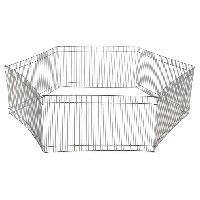 Enclos - Chenil Enclos metal galvanise - D90cm - Pour petit animal