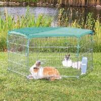 Enclos - Chenil Filet protection solaire - 1.10x1.10m - Pour lapin