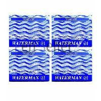 Encre WATERMAN Lot de 32 Cartouches d'encre Longues - Bleu - Generique