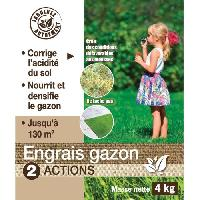 Engrais NONA Engrais gazon 2 en 1 - 4 kg - Generique
