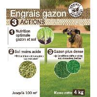 Engrais NONA Engrais gazon 3 en 1 - 4 kg - Generique