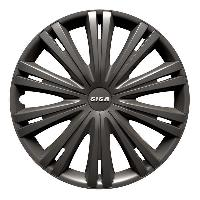 Enjoliveur Enjoliveurs de roues GIGA DARK 14 POUCES ANTRA - ADNAuto