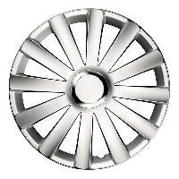 Enjoliveur Enjoliveurs de roues SPYDER 15 POUCES PRO WHITE CARAVAN