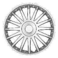 Enjoliveurs 4 Enjoliveurs 13p New York Argent -Silver-